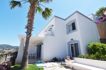 Yalıkavak, Bodrum Duplex Villa with Seaview, Seafront complex, private beach