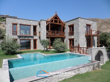 LUXURIOUS STONE VILLA IN BODRUM GUMUSLUK