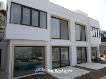 TWIN VILLA AT BODRUM YALIKAVAK WITH SEA VIEW