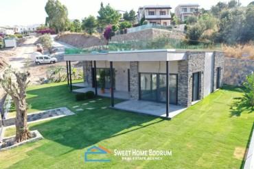 Gündoğan Küçükbük'te Denize Yakın 3+1 sıfır villa
