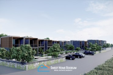 Bodrum Türkbükü'nde Denize Yürüme Mesafesinde Satılık Müstakil Villalar